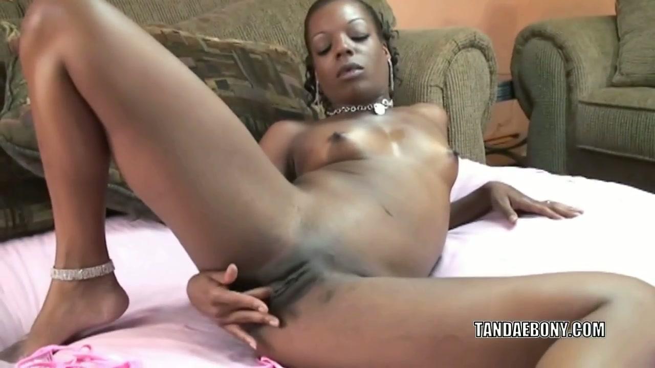 Ebony Teen Sexy Pussy Play