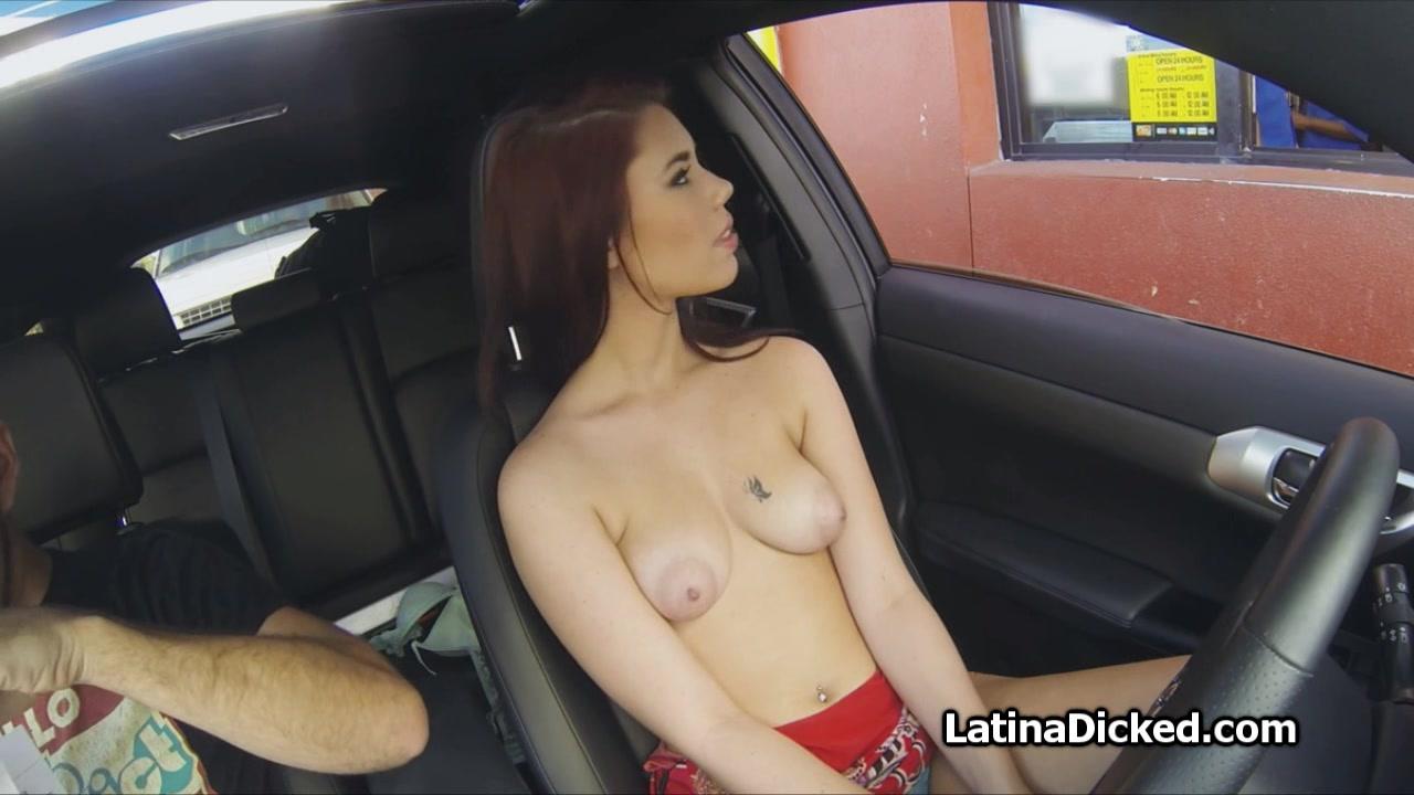 Girls topless drive thru pics